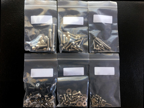 Complete Engine fastener kit for the Ducati 900 engines (generic image for demo purposes)