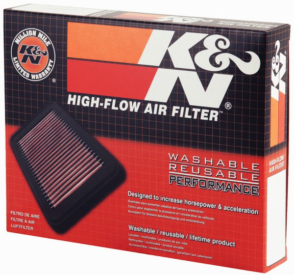 High Flow Air Filter designed to increase horsepower and acceleration
