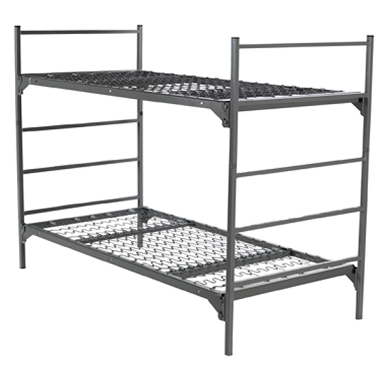 Picture of: Military Metal Bunk Beds Square Tube Frame