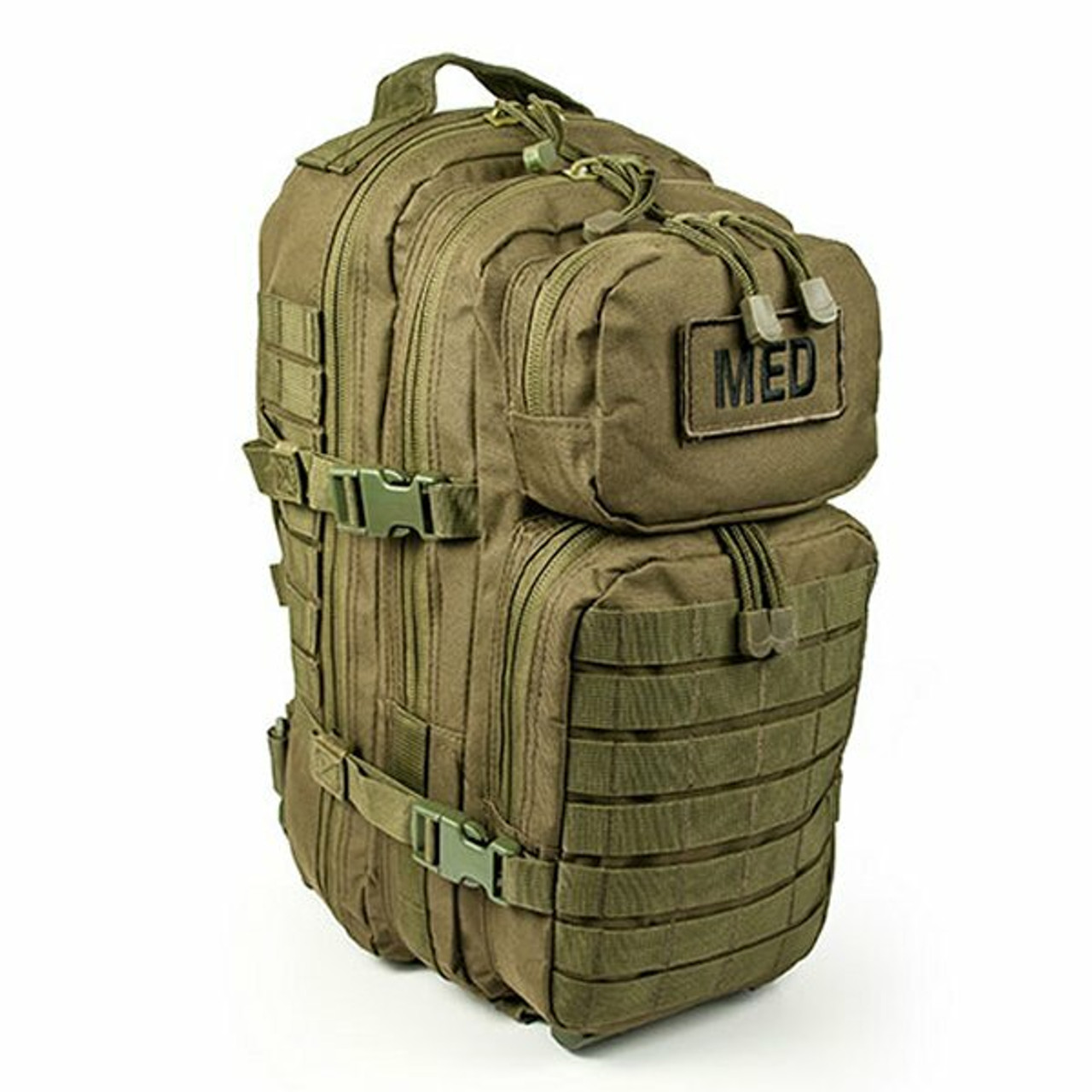 Highlander Maxi Pack Scouts Military Camping Olive Green First Aid Kit