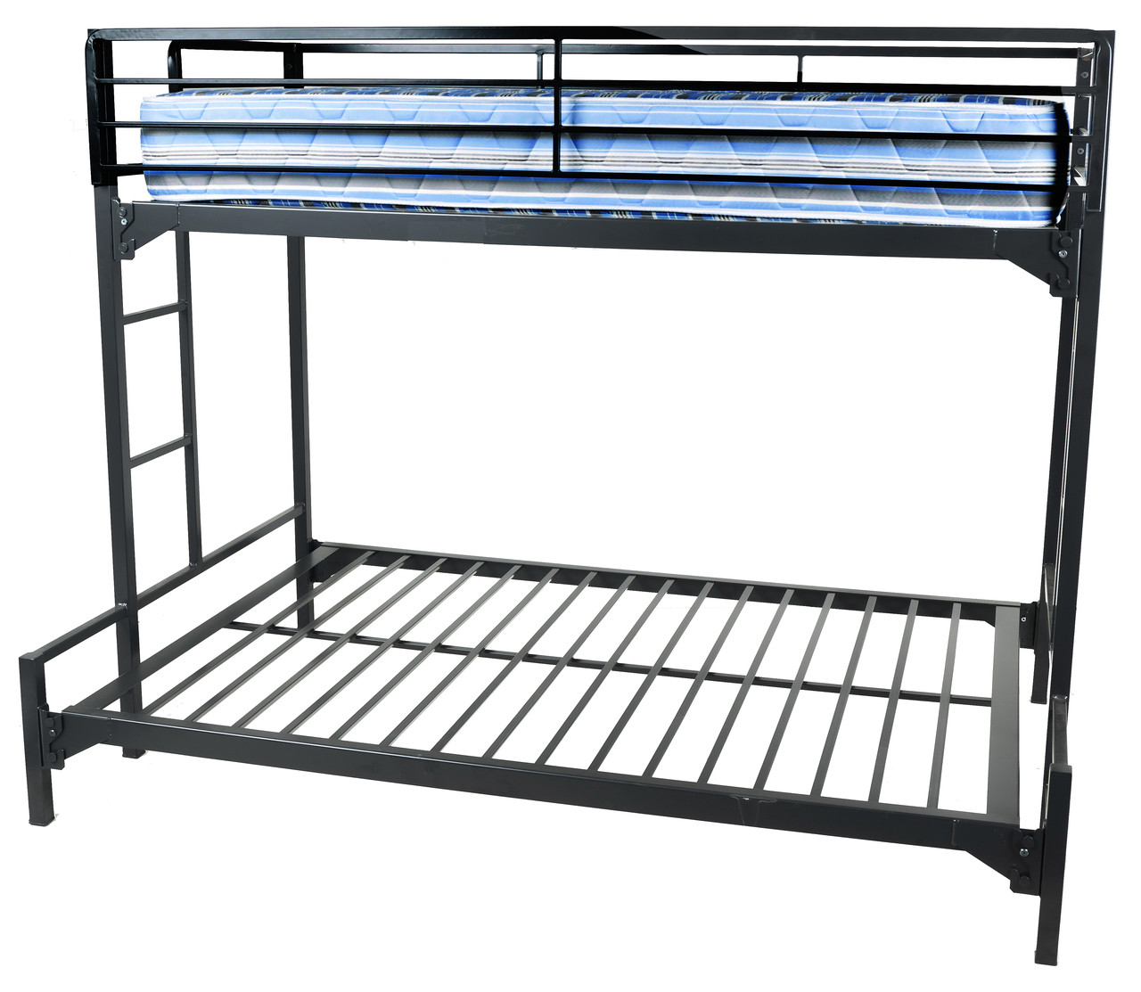Metal Bunk Beds Twin Over Queen