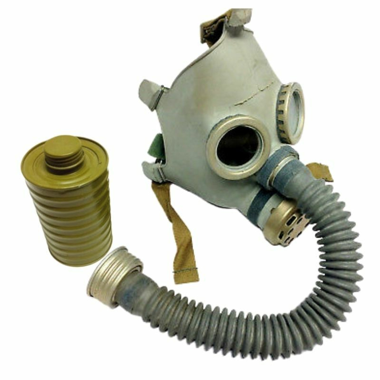 White Soviet military gas mask Hamster Protection mask PBF