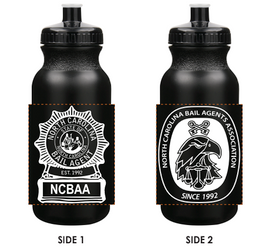 NCBAA Water Bottle