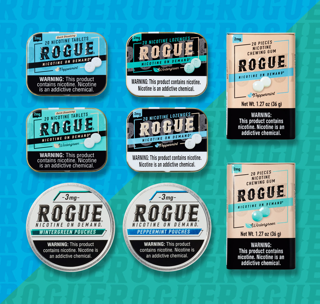 Rogue Low Strength Mix Pack