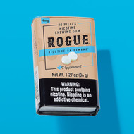 Flavor Focus: Peppermint Nicotine Gum from Rogue