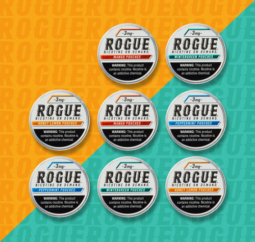 Rogue Pouches 8 Pack 3MG Mix Flavor