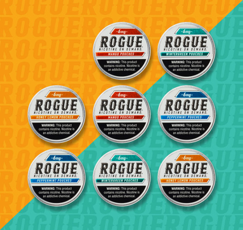Rogue Pouches 8 Pack 6MG Mix Flavor