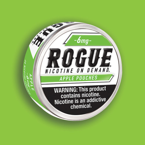 Rogue Pouches 5 Pack Apple 6 MG