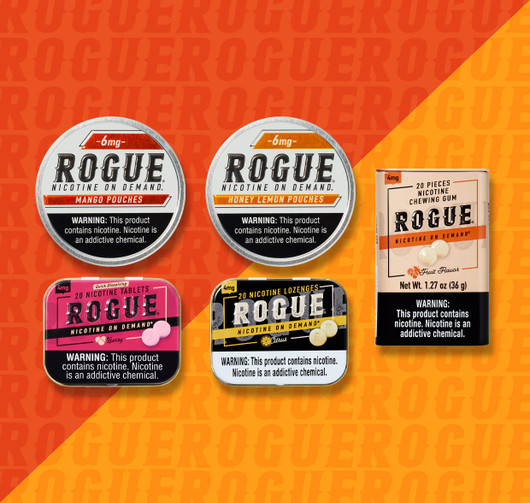 Rogue 5 Pack Fruit High Strength Mix Pack