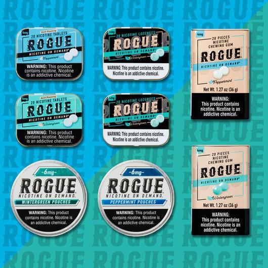 Rogue 8 Pack Fresh High Strength Mix Pack