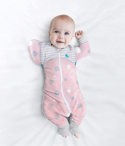 SWADDLE UP™ TRANSITION SUIT Lite 0.2 TOG Pink