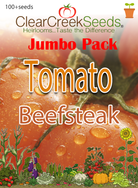 Tomato - Beefsteak (100+ seeds) JUMBO PACK