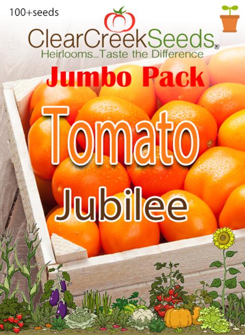 Tomato - Jubilee (100+ seeds) JUMBO PACK
