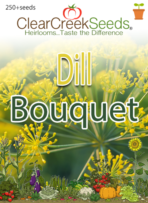 Dill - Bouquet (250+ seeds)