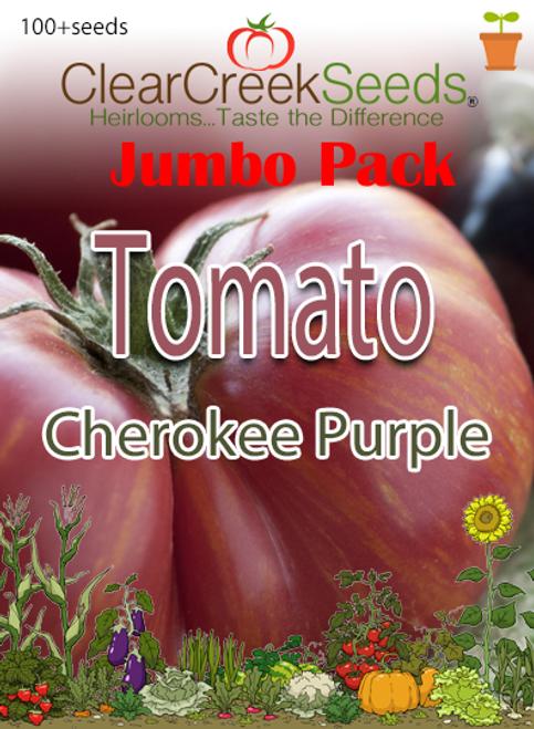 Tomato - Cherokee Purple (100+ seeds) JUMBO PACK