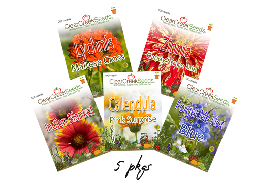 Pollination Variety Pack (5 packs) Varieties may vary