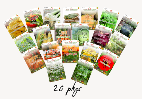 Garden Bundle Pack (20 packs) Varieties may vary