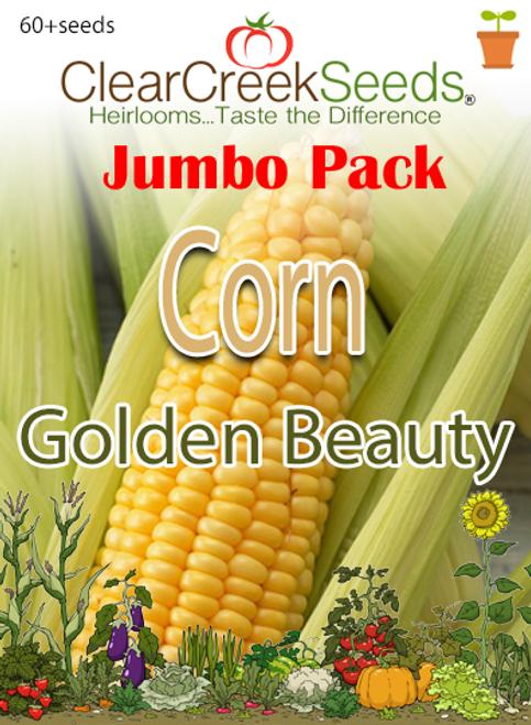 Corn – (Sweet) Golden Beauty (60+ seeds) JUMBO PACK