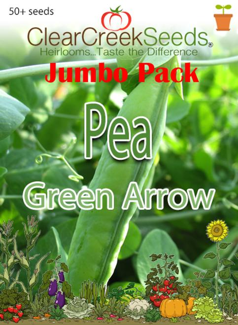 Pea Shelling - Green Arrow (50+ seeds) JUMBO PACK
