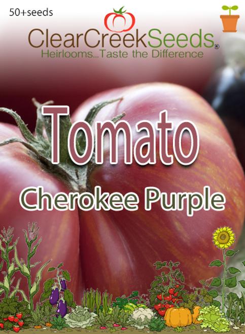 Tomato - Cherokee Purple (50+ seeds)