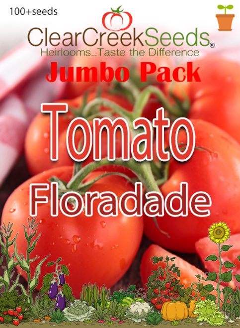 Tomato - Floradade (100+ seeds) JUMBO PACK