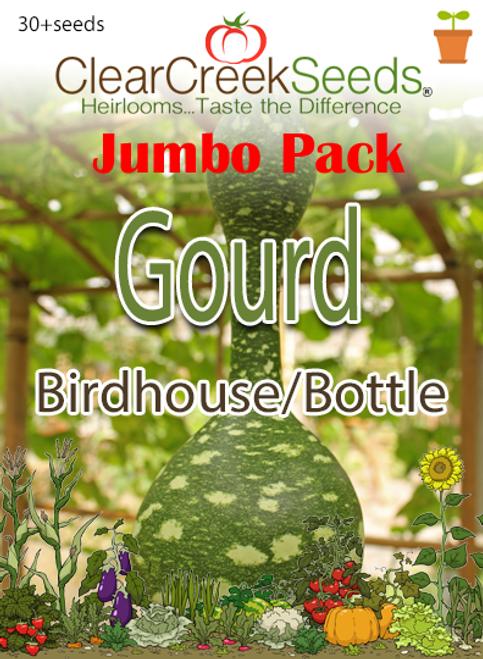 Gourd - Birdhouse / Bottle (30+ seeds) JUMBO PACK