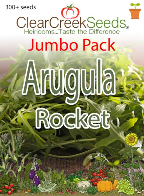 Arugula - Rocket (300+ seeds) JUMBO PACK