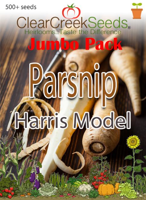 Parsnip -Harris Model (500+ seeds) JUMBO PACK