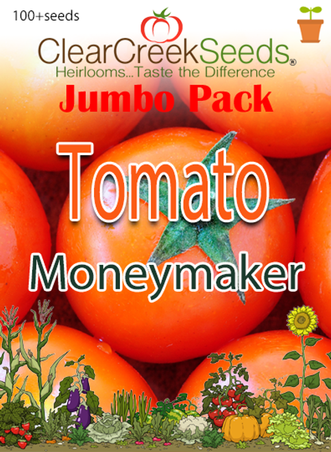 Tomato - Moneymaker (100+ seeds) JUMBO PACK
