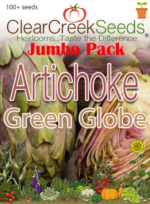 Artichoke - Green Globe (100+ seeds) JUMBO PACK