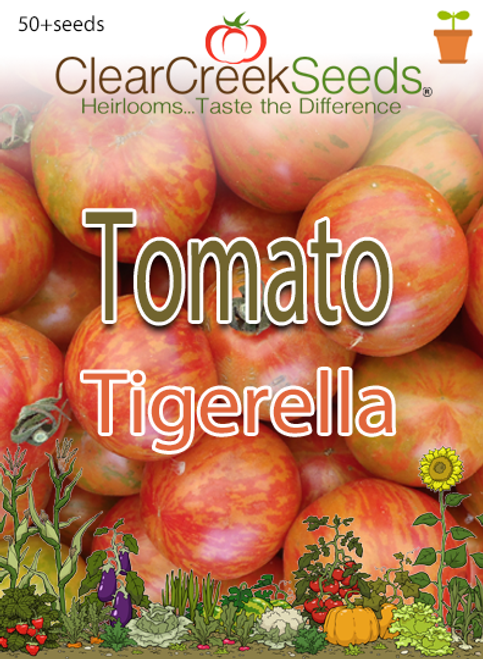 Tomato - Tigerella (50+ seeds)