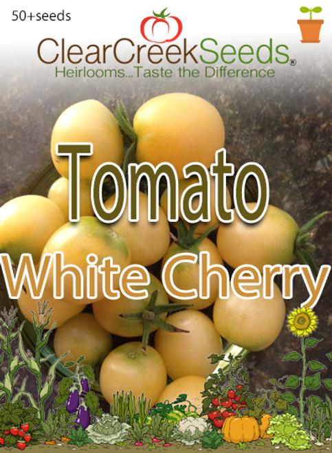 Tomato - White Cherry (50+ seeds)