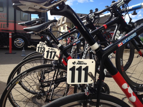 Silber Pro Cycling uses the La Cal at the Tour of Alberta during the 2015 season.