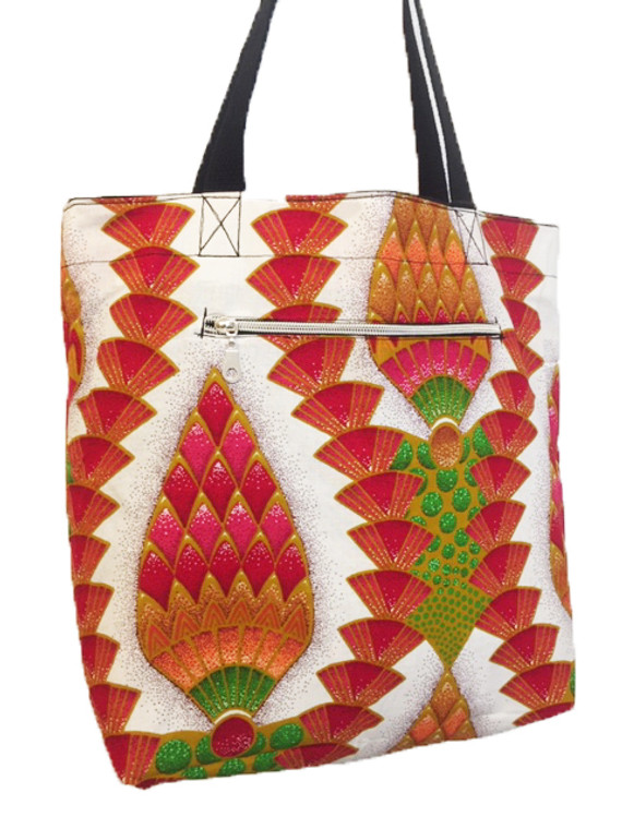 Reversible Small Tote:  Festival of Lights