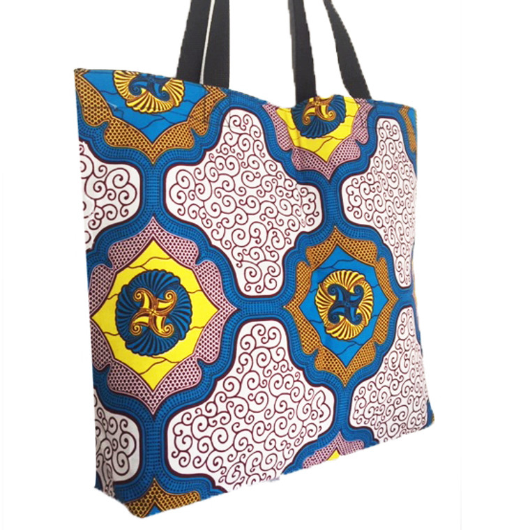 Reversible Small Tote: Calm in the Storm