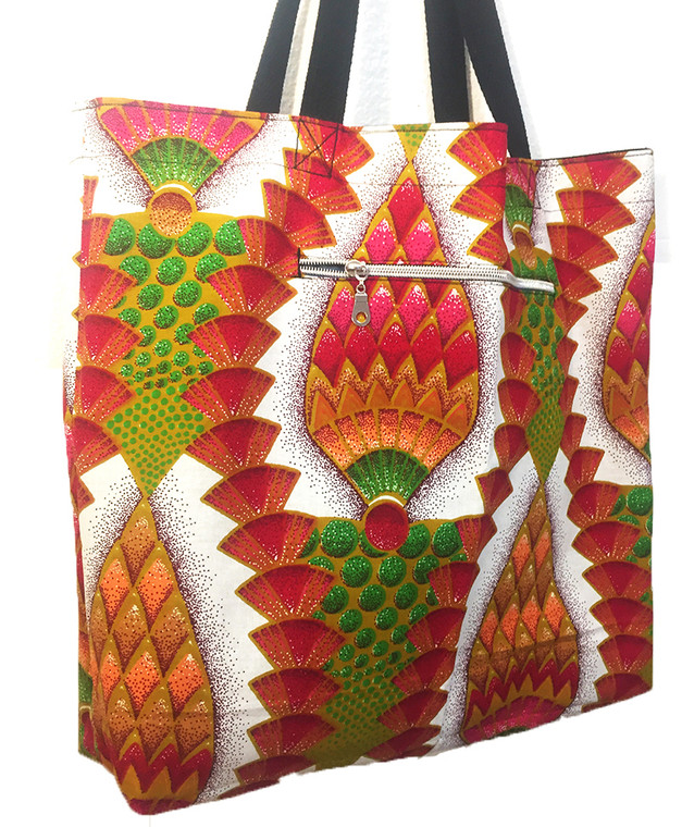 Reversible Tote:  Festival of Light (Canada)