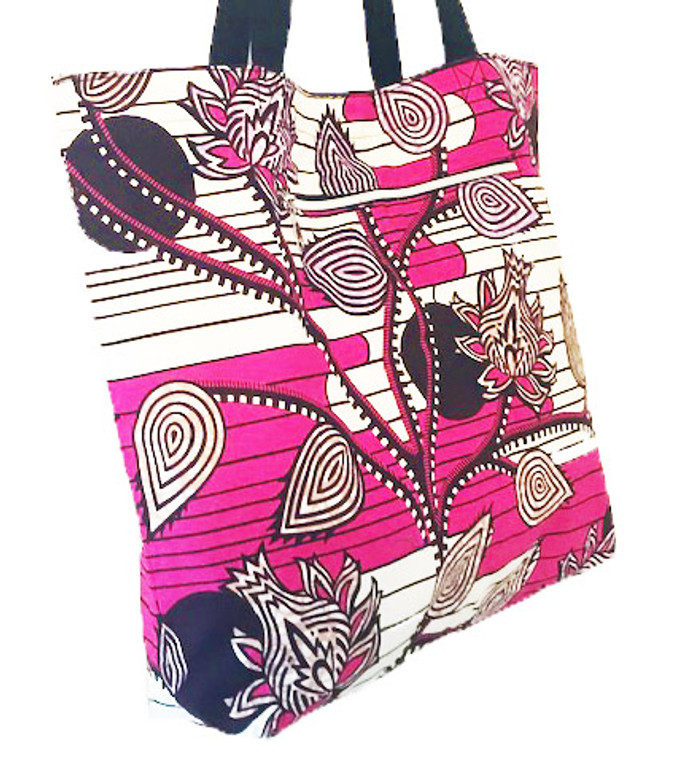 Reversible Tote:  Strawberry
