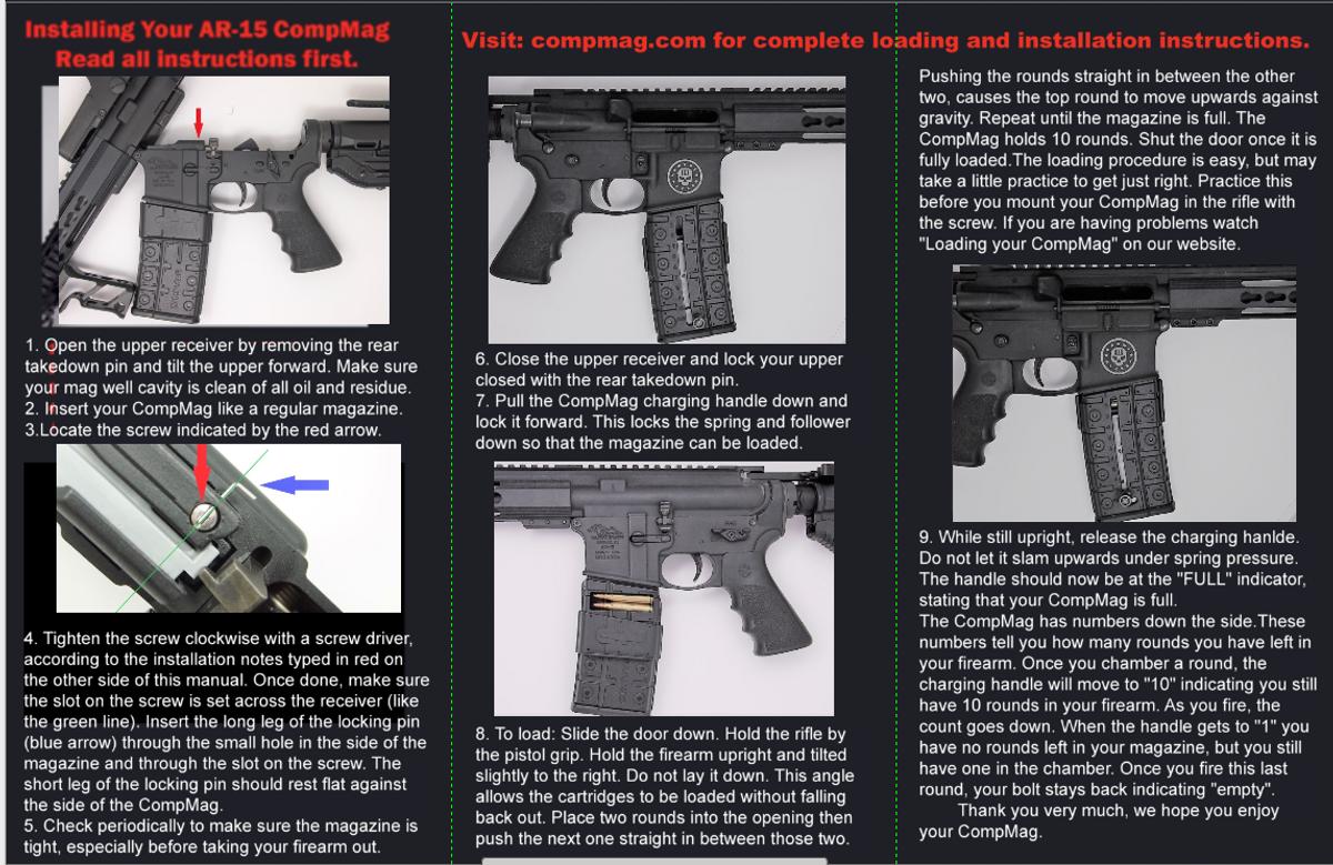 AR-15 CompMag  California Version