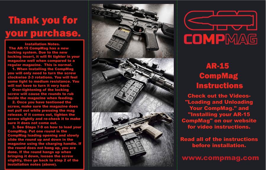 AR-15 Instructions