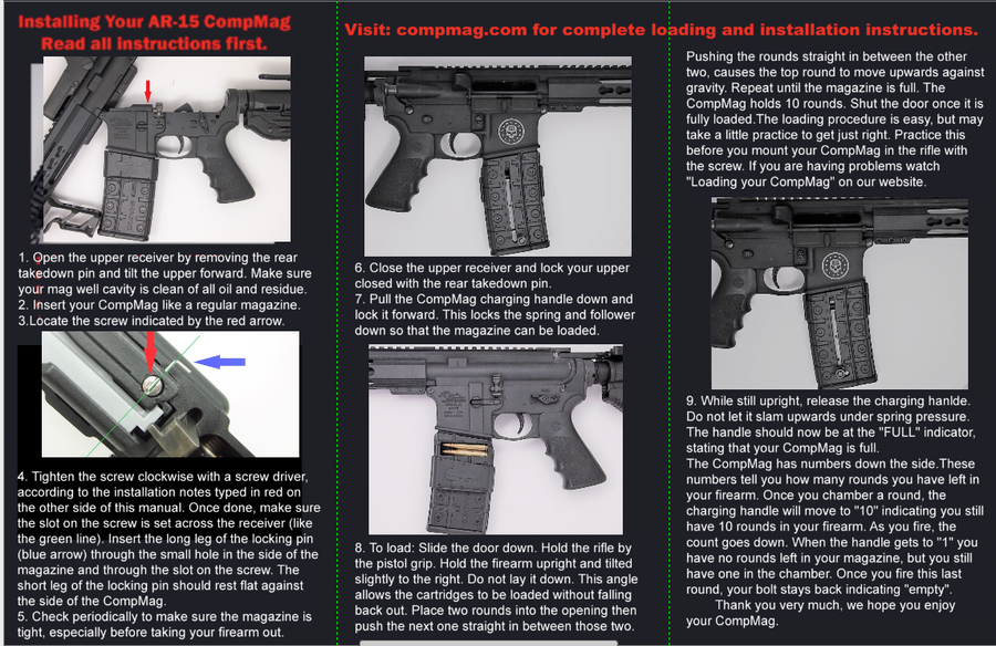 AR-15 Instructions 2