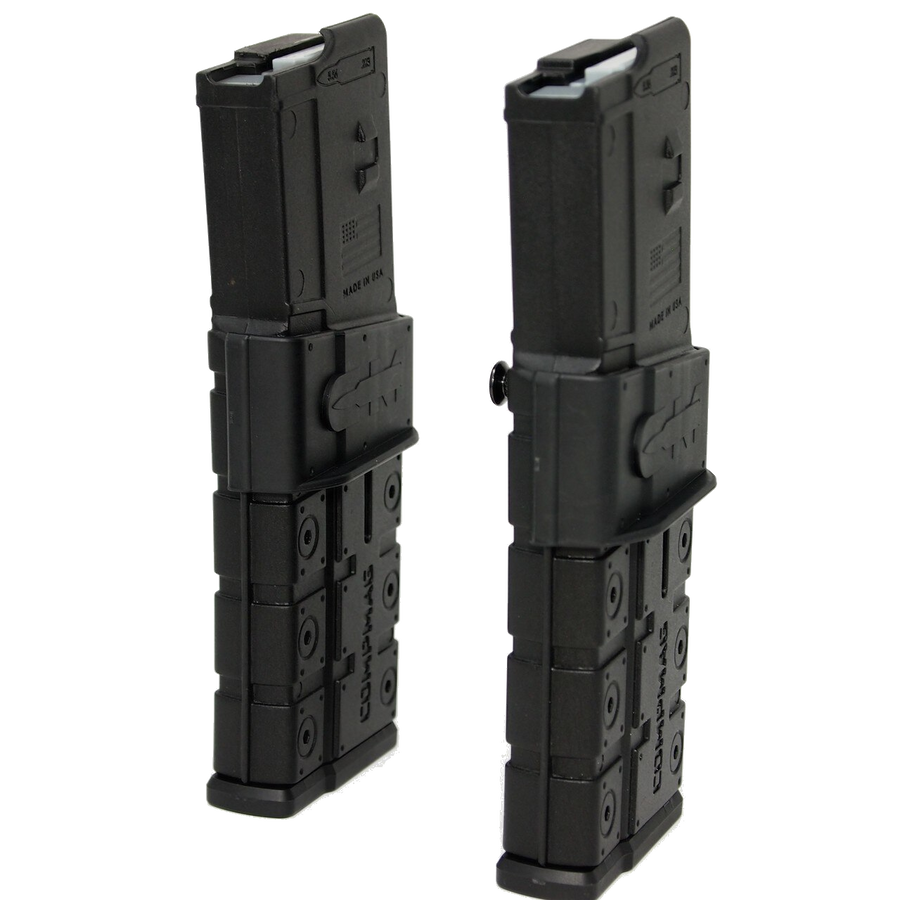 AR-15 CompMag Side by side Ca compliant.