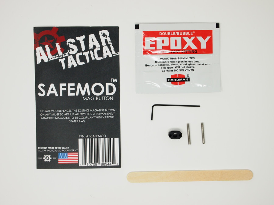 Allstar Tactical Safemod Mag Button- For New York.
