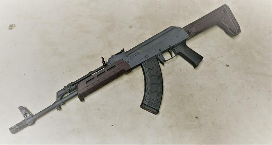 AK-47 rachet charging