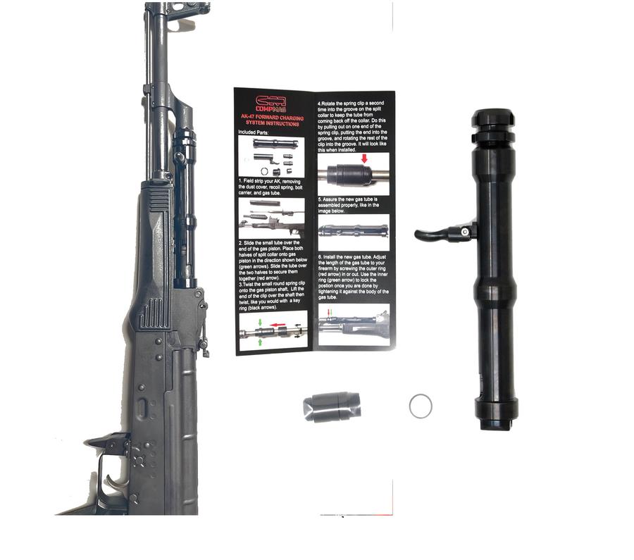 AK-47 forward charging system RCS