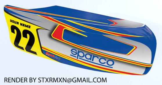 Apex Style Side Pod Kit