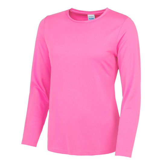Sports Cool T Shirt (Long Sleeve) - Womens