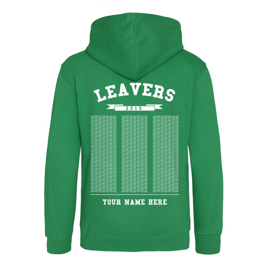 Juniors Leavers Hoodie - Design 3