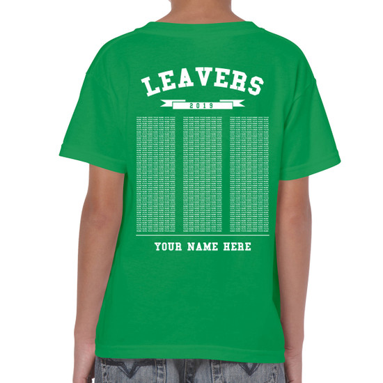 Junior Leavers T-Shirt - Design 3