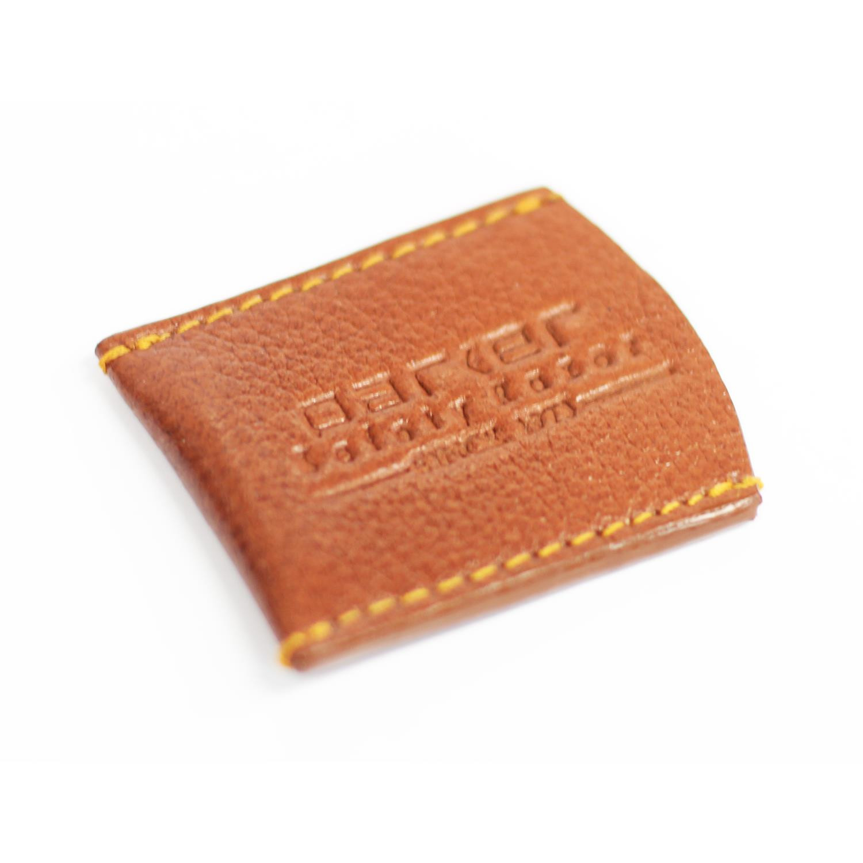 Parker LRCBR Brown Leather Razor Cover