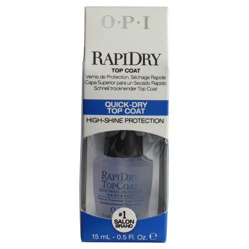 OPI RapiDry Top Coat Quick Drying Nail Protection 15ml